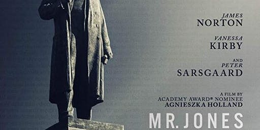 """Mr Jones"" - screening of new film by Agnieszka Holland"