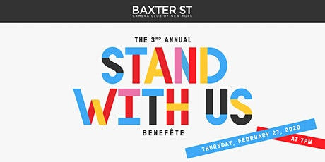 2020 STAND WITH US: Baxter St at CCNY Benefit tickets