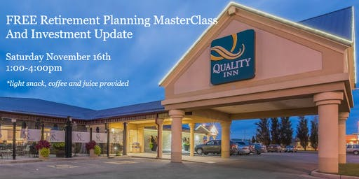 Retirement Planning Masterclass and Investment Update