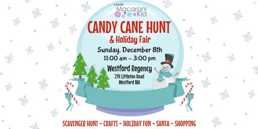 Visit with Santa at Candy Cane Hunt & Holiday Fair