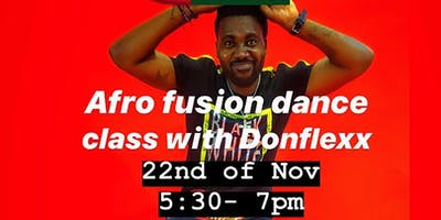 AFRO-FUSION with P-Square's Choreographer -  Don Flex
