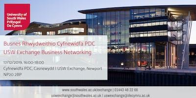 Busnes Rhwydweithio (Casnewydd)   Business Networking (Newport) 17/12/2019