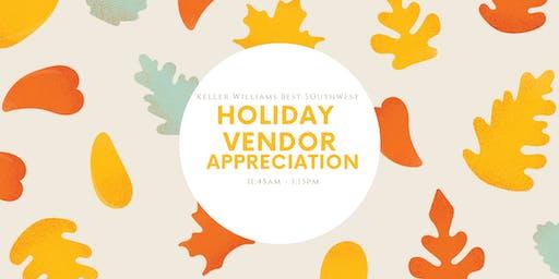 Holiday Vendor Appreciation