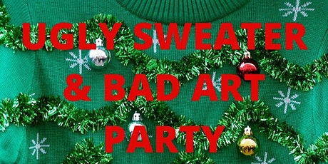 Ugly Sweater & Bad Art Holiday Party (Adult & YA) tickets