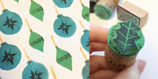 Hand Printed Wrapping Paper Workshop