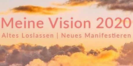 Erschaffe das Jahr Deiner Träume mit Peaceful Mind & Visions-Collage Tickets