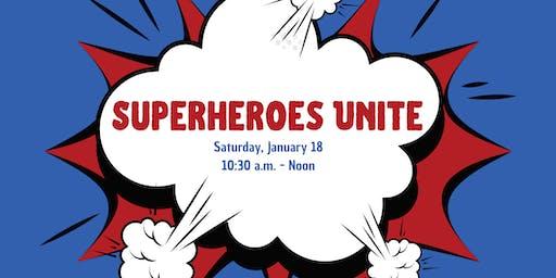 Superheroes  Unite 2020