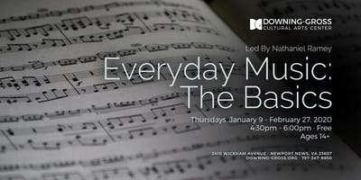 Everyday Music: The Basics - Free Music Theory and Composition Class