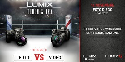 Lumix Touch And Try – Workshop Con Fabio Stanzione