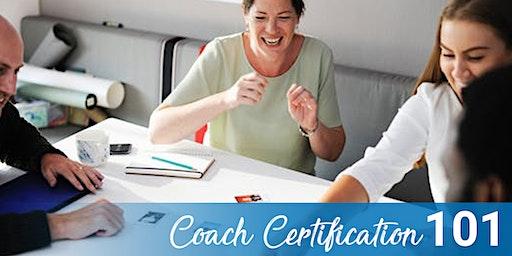 Coach Certification (CC) 101 in Austin, TX 2-28-20