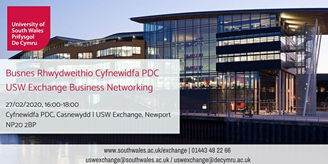 Busnes Rhwydweithio (Casnewydd) | Business Networking (Newport) 27/02/2020 tickets