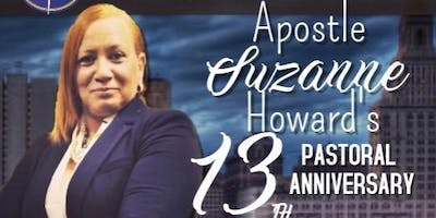 Apostle Suzanne Howard 13th Pastoral Anniversary
