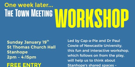 The Town Meeting Workshop tickets
