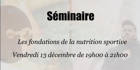Les fondations de la nutrition sportive par Innovation Nutrition billets