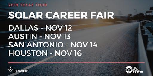 Solar Career Fair - Dallas
