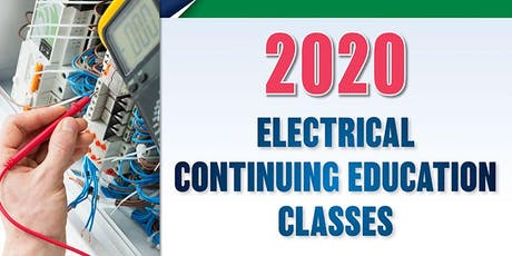 2020 Electrical Continuing Education Class, Fargo, Jan. 8 tickets
