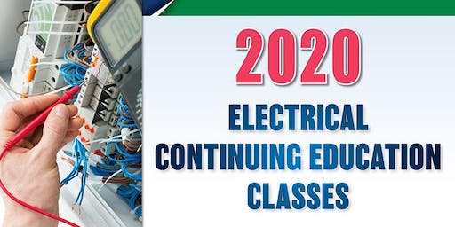 2020 Electrical Continuing Education Class, Fargo, Jan. 8