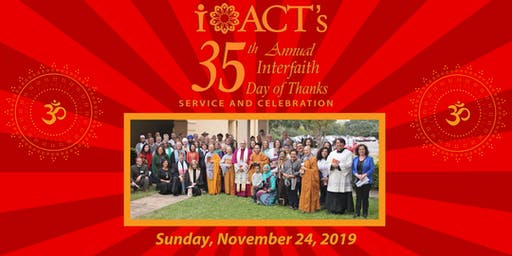 iACT's 35th Annual Interfaith Day of Thanks