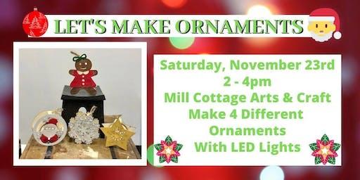 Let's Make Christmas Ornaments