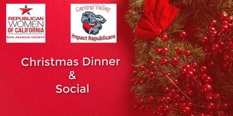Christmas Dinner & Social tickets