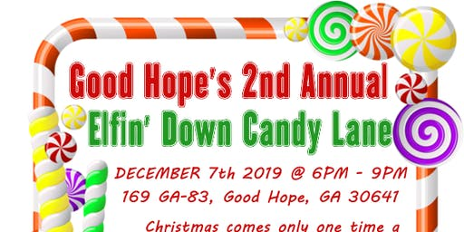 Good Hope's Elfing Around on Candy Cane Lane