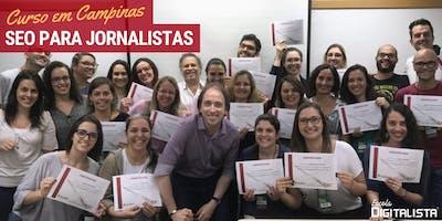 """Curso """"SEO para jornalistas"""" em Campinas - Turma 10"""