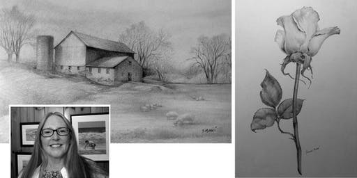 One Day Workshop with Yvonne Mucci - Graphite Drawing Techniques