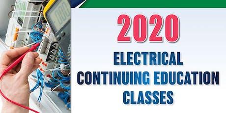 2020 Electrical Continuing Education Class, Bemidji, Jan. 23 tickets