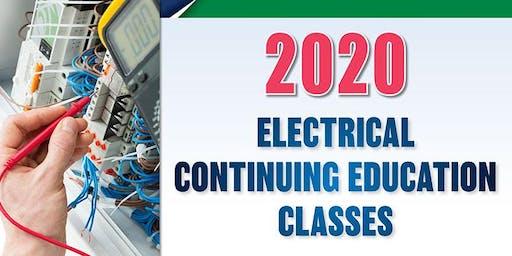2020 Electrical Continuing Education Class, Bemidji, Jan. 23