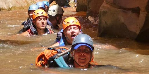 Fall 2019 Moab Adventure!  Canyoneering and Campfires   -   5 Days $119