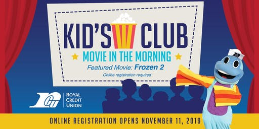 Royal Credit Union Kid's Club Movie in the Morning - Menomonie