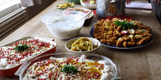 Syrian cookery class with Suzanne in Tonbridge