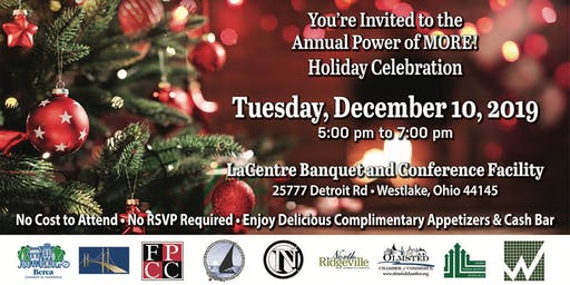 Annual Power of MORE Year End Networking Celebration and Holiday Party