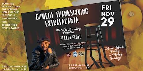 Comedy Thanksgiving Extravaganza Fundraiser tickets