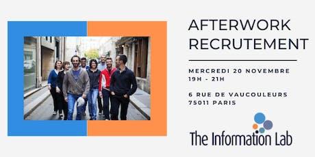 Afterwork Recrutement tickets