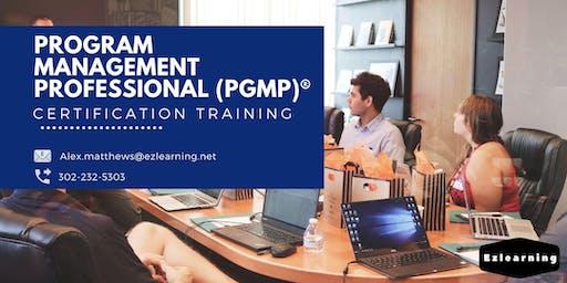 PgMP Classroom Training in  Dawson Creek, BC