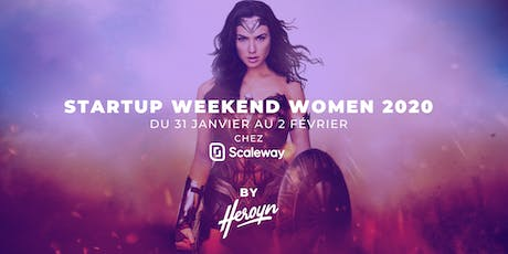 Startup Weekend Women Paris 2020 billets