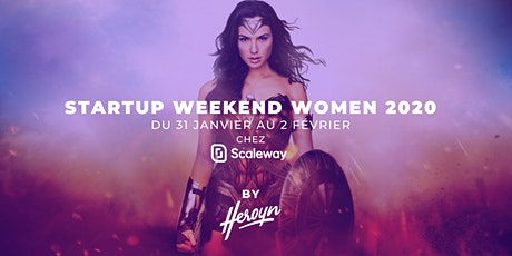 Startup Weekend Women Paris 2020 billets