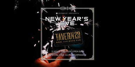 Tavern 29 New Years Eve 2020 Party tickets