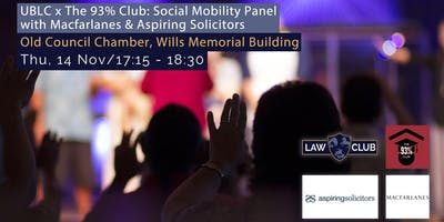Social Mobility Panel with Macfarlanes & Aspiring Solicitors
