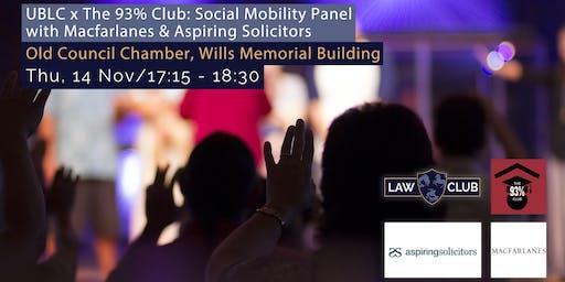 Social Mobility Panel with Macfarlanes & Aspiring Solicitors