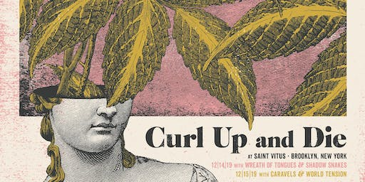 Curl Up and Die, Wreath of Tongues (Record Release), Shadow Snakes