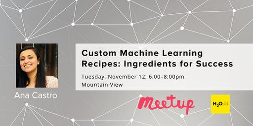 Custom Machine Learning Recipes: Ingredients for Success