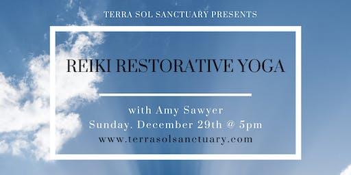 Reiki Restorative Yoga