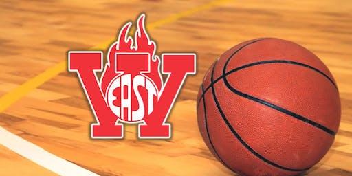 Williamsville East vs Sweet Home JV/Varsity Basketball (Boys)