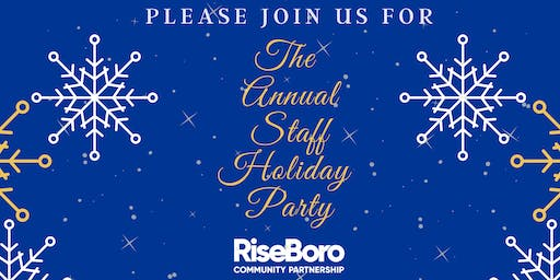 Annual Staff Holiday Party