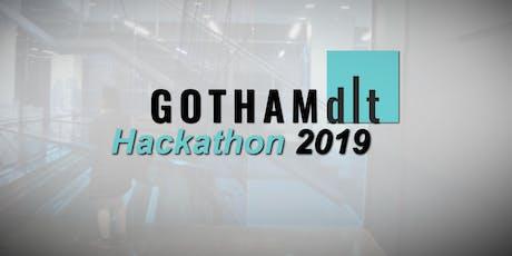 Gotham DLT Hackathon 2019 tickets