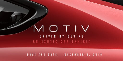 Motiv 2019 - Car Exhibit