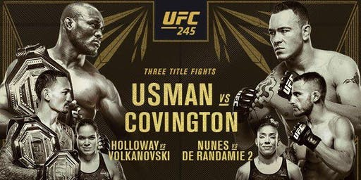 PPV UFC 245 French Quarter New Orleans Watch Party