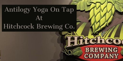Yoga and Beer at Hitchcock Brewing Company